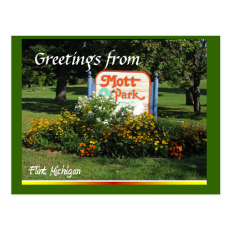 Cartão Postal Cumprimentos da marca de Mott