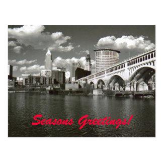 Cartão Postal Cumprimentos das estações!