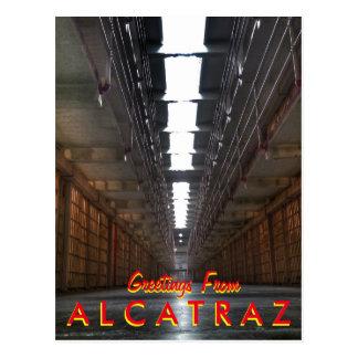 Cartão Postal Cumprimentos de Alcatraz