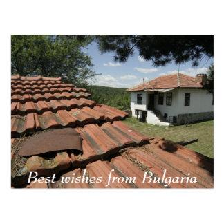 Cartão Postal Cumprimentos de Bulgária