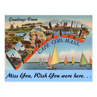 Cartão Postal Cumprimentos de Dennisport