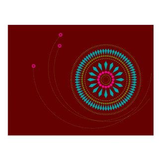 Cartão Postal Cumprimentos de Diwali