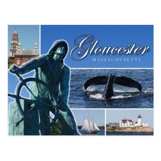 Cartão Postal Cumprimentos de Gloucester, MÃES