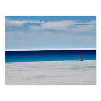 Cartão Postal Cumprimentos de Greenland 11