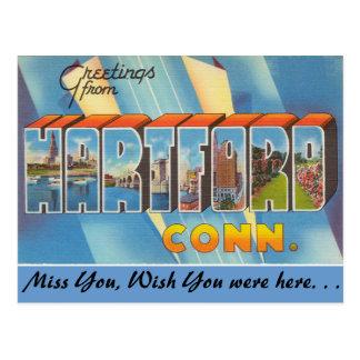Cartão Postal Cumprimentos de Hartford