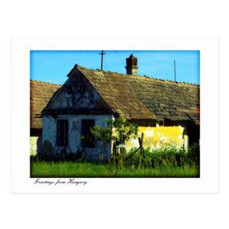 Cartão Postal Cumprimentos de Hungria
