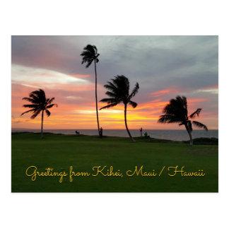 Cartão Postal Cumprimentos de Kihei, Maui/Havaí