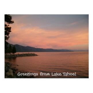 Cartão Postal Cumprimentos de Lake Tahoe!