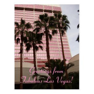 Cartão Postal Cumprimentos de Las Vegas fabuloso!