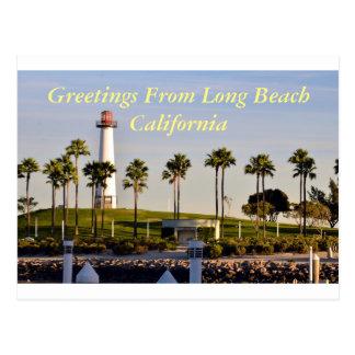 Cartão Postal Cumprimentos de Long Beach Califórnia