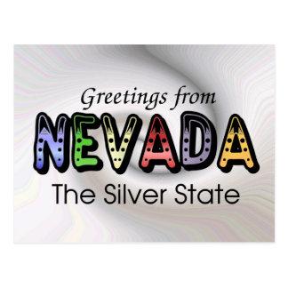 Cartão Postal Cumprimentos de Nevda