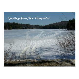 Cartão Postal Cumprimentos de New Hampshire