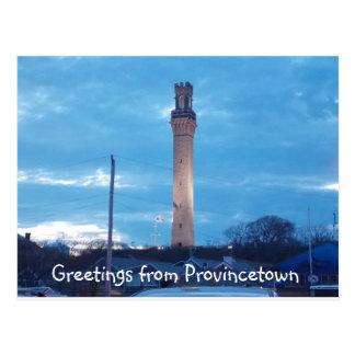 Cartão Postal Cumprimentos de Provincetown 2