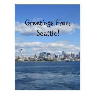 Cartão Postal Cumprimentos de Seattle