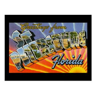 Cartão Postal Cumprimentos de St Petersburg Florida