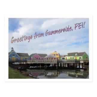 Cartão Postal Cumprimentos de Summerside, PEI!