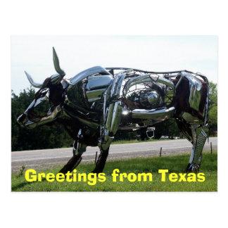 Cartão Postal Cumprimentos de Texas