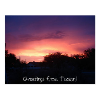 Cartão Postal Cumprimentos de Tucson!