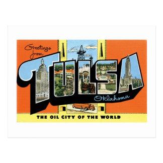 Cartão Postal Cumprimentos de Tulsa, Oklahoma!