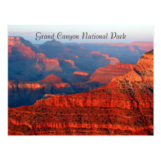 Cartão Postal cumprimentos do vermelho do Grand Canyon