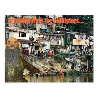 Cartão Postal cumprimentos dos phillipines