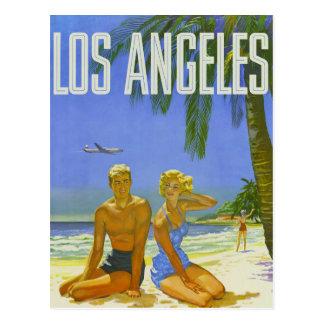 Cartão Postal Cumprimentos ensolarados de Los Angeles