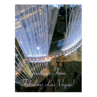 Cartão Postal Cumprimentos FromFabulous Las Vegas!
