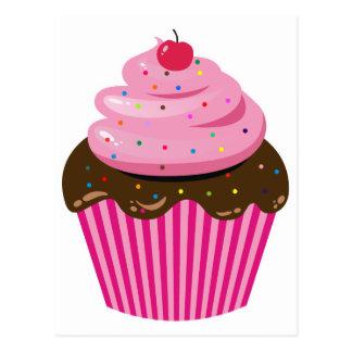 Cartão Postal Cupcake