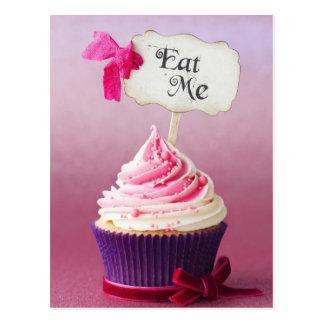 Cartão Postal Cupcake - coma-me
