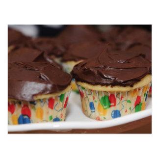 Cartão Postal Cupcakes