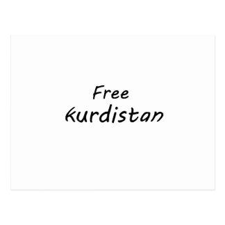 Cartão Postal Curdistão livre
