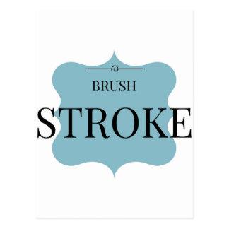 Cartão Postal Cursos da escova