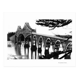 Cartão Postal Curvatura de PhotographNorth da ponte da baía dos