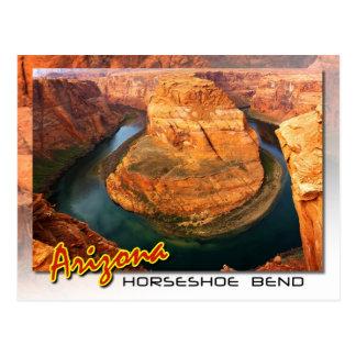 Cartão Postal Curvatura em ferradura perto da página, arizona