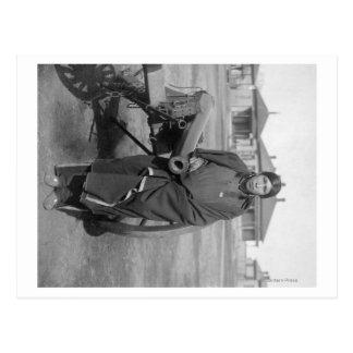 """Cartão Postal Da """"cavalos abundância"""" quem massacrou Lieut."""