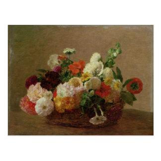 Cartão Postal Da flor vida ainda