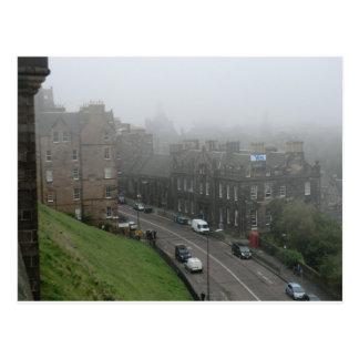 Cartão Postal Da independência bandeira escocesa sim em