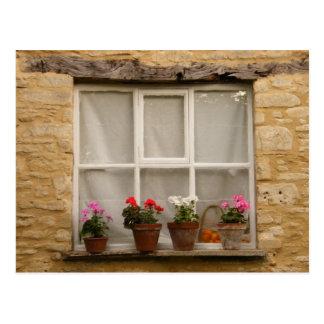 """Cartão Postal Da """"janela casa de campo """""""