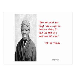 """Cartão Postal Da morte de Harriet Tubman da """"presentes das"""