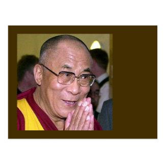 Cartão Postal Dalai Lama