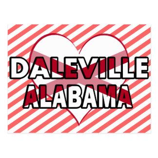 Cartão Postal Daleville, Alabama