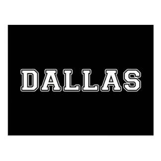 Cartão Postal Dallas Texas