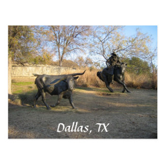 Cartão Postal Dallas, TX