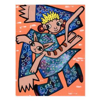 Cartão Postal Dança