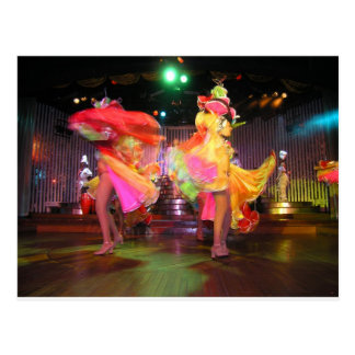 Cartão Postal Dança cubana