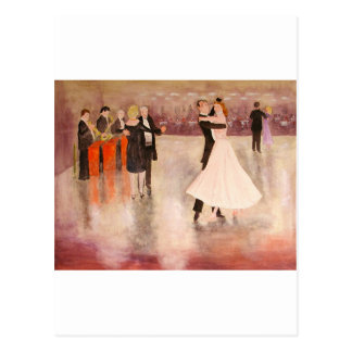 Cartão Postal Dança da noite