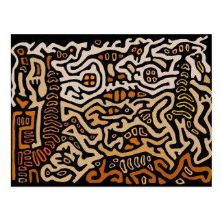 Cartão Postal Dança das almas do espírito do Mola