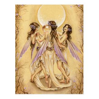 Cartão Postal Dança das benevolências