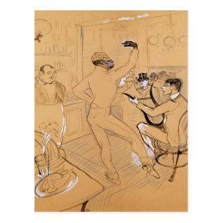 Cartão Postal Dança de Chocolat, 1896