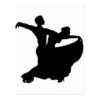 Cartão Postal Dança de salão de baile